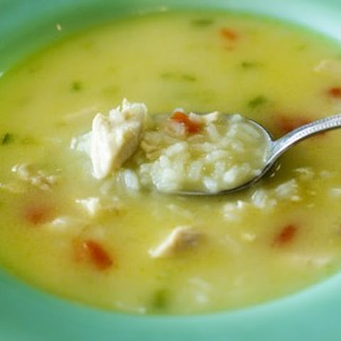 Simple, Hearty, Chicken and Rice Soup