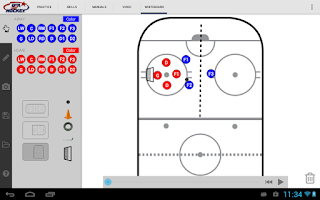 Screenshot of USA Hockey Mobile Coach