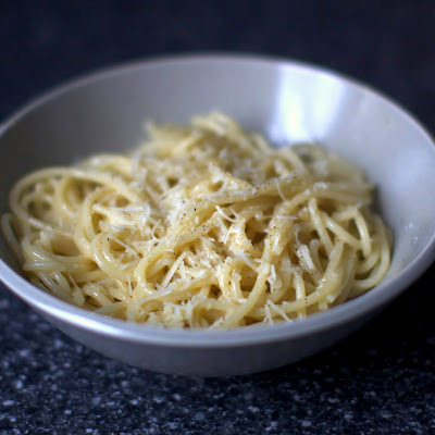 Spaghetti With Cheese + Black Pepper