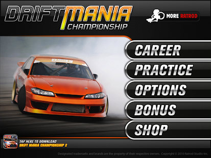 APK Game Drift Mania Championship Lite for BB, BlackBerry