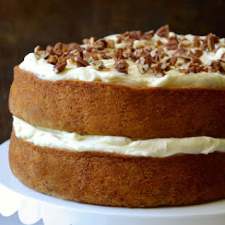 The Best Banana Cake with Cream Cheese Frosting