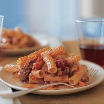Rigatoni with Pork Ragù