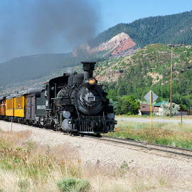 Durango & Silverton by Jeff Via Sr. - Transportation Trains ( durango, train, transportation, silverton, trains, land, device )