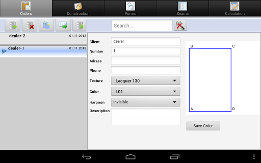 NewMatRos for Android - screenshot