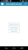 Screenshot of English Grammar