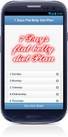 Screenshot of Belly Fat Burning Diet plan
