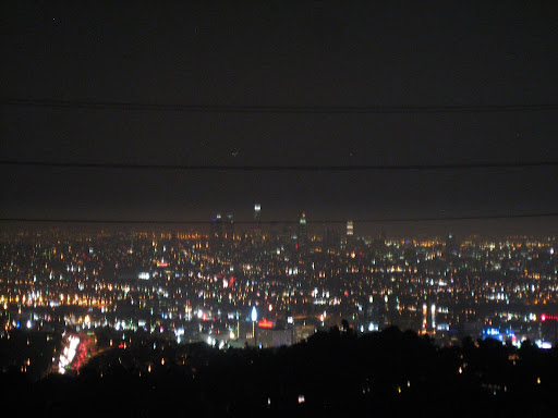 Widok z Mulholland Drive - tu kalifornijczycy kończą pierwsze randki