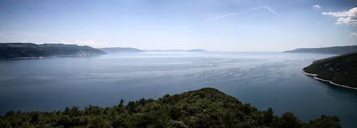 Panorama från Kroatien