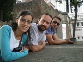 Natalia, Dani, Mario