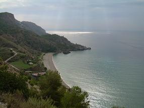 playa del cañuelo, maro