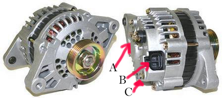 Alternator wiring diagram ca18det free wiring diagrams on mercruiser alternator wiring diagram 3.0L Mercruiser Starter Wiring Chart 4 Wire Alternator Wiring Diagram