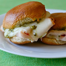 Turkey Pesto Sliders