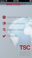Screenshot of SanctionsApp