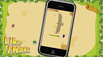 Screenshot of Like Snake Demo