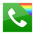 App exDialer Orange ICS Theme APK for Kindle