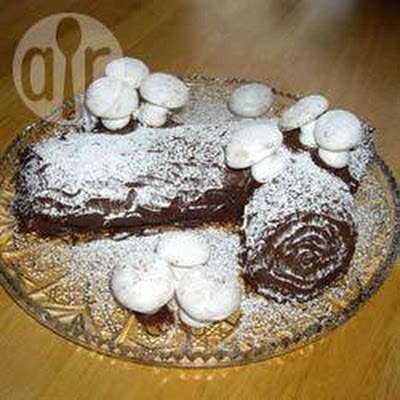 Double Chocolate Yule Log