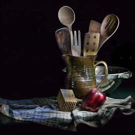 Kitchen Still Life by Betsy Wilson - Artistic Objects Still Life