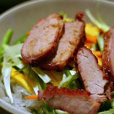Cellophane Noodle Salad With Roast Pork