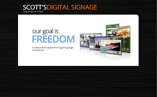 Screenshot of Scott's Digital Signage Player