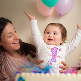 Charlotte is One! by Mike DeMicco - People Family