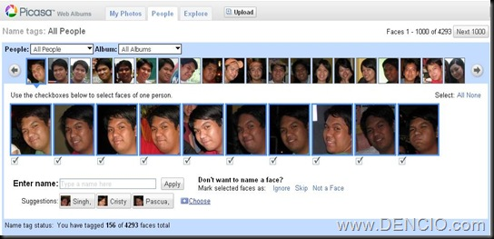 Picasa Web Face Detection Technology