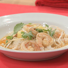 Thai Red Curry Shrimp with Jasmine Rice