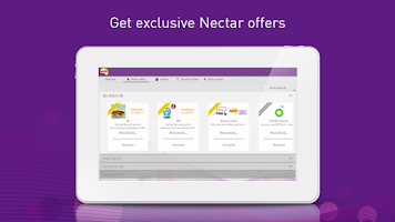 Screenshot of Nectar for Tablets