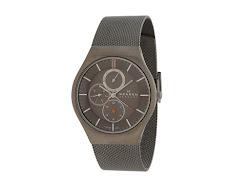 Skagen - Skagen Activ (Charcoal/Gray IP Mesh) - Jewelry