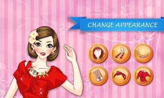 Screenshot of Ariana Red Dress Makeover