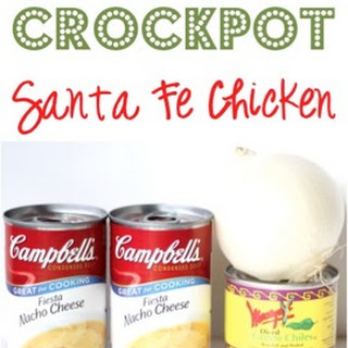 Crockpot Santa Fe Chicken Recipe!