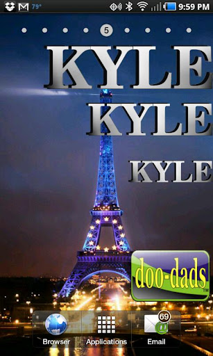 Name Kyle doo-dad