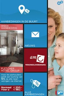 AMC personeelsvereniging - screenshot