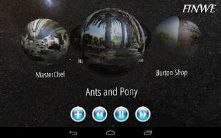 Screenshot of 360 Video Ball