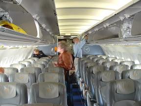 Wnętrze Airbusa