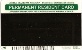 Zielona Karta (tył)