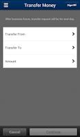 Screenshot of UNFCU Phone