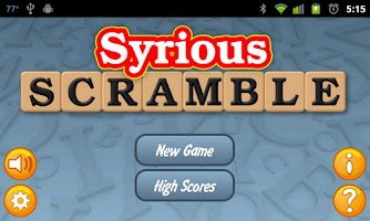 Screenshot of Syrious Scramble Full