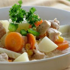 Hearty Turkey Vegetable Stew