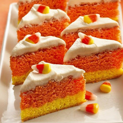Orange Candy Corn Bars