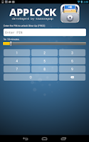 Screenshot of AppLock