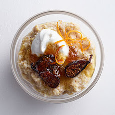 Creamy 7-Grain with Goat Cheese, Yogurt, and Fig