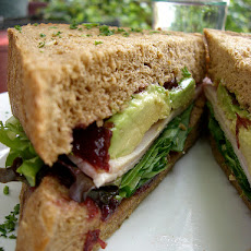 Smoked Turkey, Avocado & Brie Sandwiches