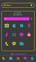 Screenshot of vivid diamond dodol theme