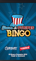 Screenshot of Stars and Stripes Bingo: FREE