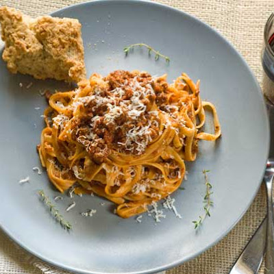 Gluten Free Bolognese with Pasta
