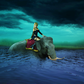 Neng Saodah by Doni Andriady - Digital Art People