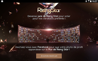 Screenshot of Rising Star