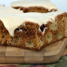 Dulce de Leche Apple Bars with Browned Butter Icing