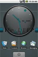 Screenshot of NexDEEP Clock Widget 4x3