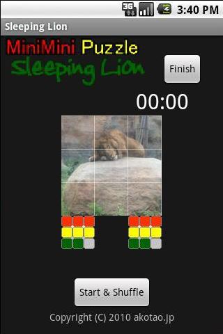 Sleeping Lion Free